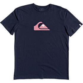Quiksilver Comp Logo SS Tee Herrer, navy blazer